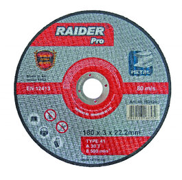 Диск за метал 230 х 3 х 22.2mm RDP Raider 160128