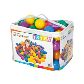 Топки INTEX 8cm Fun Ballz, 100 бр. 749600