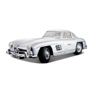 Bburago Plus - Модел на кола Mercedes-Benz 300SL 1/18 - 0931433